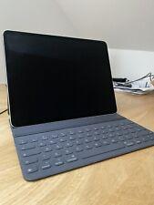 Ipad Pro 3rd Gen 12.9, Space Grey, 256Gb Wifi And Cellular. Keyboard Case Bundle