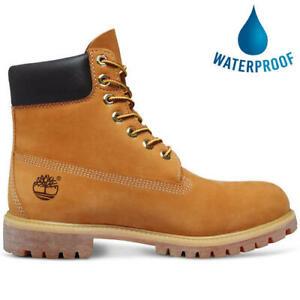 Timberland Mens 6 Inch Classic 10061 Yellow Premium Waterproof Boots Size 7-14.5