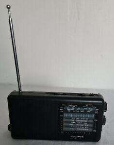 VINTAGE OPTIMUS PORTABLE RADIO
