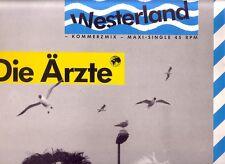 """DIE ÄRZTE """"Westerland""""  Kommerzmix 3 Track 12 INCH Maxi VINYL"""