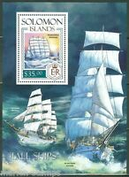 SOLOMON ISLANDS  2013  TALL SHIPS  SOUVENIR SHEET  MINT NH