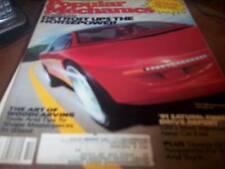 Popular Mechanics Oct 1990 Ford's Mercury Cyclone