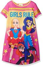 24df1f50ed2 DC Super Hero Girls' Sleepwear (Sizes 4 & Up) for Girls for sale   eBay