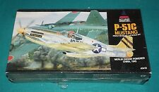 P-51C Mustang Merlin Accurate Miniatures 1/48 Factory Sealed.