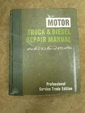 1973-1982 MOTOR TRUCK & DIESEL ENGINE SERVICE Manual FORD~MACK~INTERNATIONAL~GMC