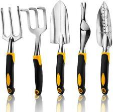 Garden Hand Tool Set 5pc Home Gardening Kit Trowel Digging Plant Weeding Tools