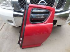 MAZDA RX-8 2004-2011 USED OEM REAR LEFT DOOR RED RX 8 RX8 DALLAS FORT WORTH