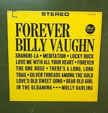 """VINTAGE FOREVER BILLY VAUGHN RECORD LP 12"""" 33 RPM- DOT RECORDS"""