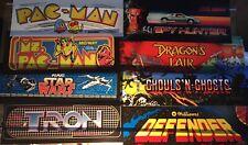 New listing Used 8 Arcade Mar 00006000 quee Reproduction Batch #7 - Tron/Defender/Star Wars/Pacman+
