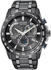Men's Citizen Eco Drive Perpetual Chronograph A-T Watch AT4007-54E