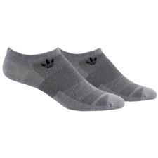 Adidas Originals Prime Mesh Gray No Show 2 Pack NMD Socks Men's 6-12 M-L New