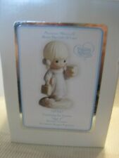 """Precious Moments Blonde Girl """"Growing In Grace Age 5"""", Date 1994, 136247 Perfect"""