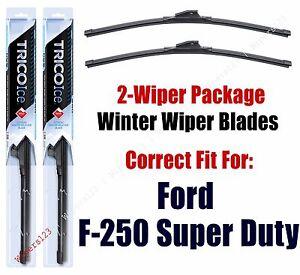 WINTER Wiper Blades 2-pack fits 2009+ Ford F-250 Super Duty - 35220x2