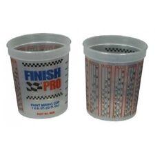 FULL CASE QUART PLASTIC PAINT MIXING CUPS 100 COUNT XL MATRIX  FIVE STAR PPG