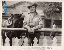 Barbara Hale sexy cowgirl The Oklahoman VINTAGE Photo