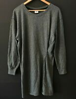 CAbi Womens Put-On Dress Charcoal Gray Style 3650 Fall 2018 sz L Large