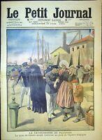 Le Petit Journal N°1022 19/6/1910 La catastrophe du pluviose, au bord du suicide