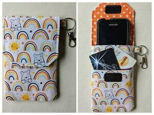 Mobile Phone Pouch Padded - Med/Sml - iPhone/Samsung/Google (Universal) Handmade