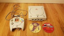 Sega DreamCast System with One contoller, and Great Games