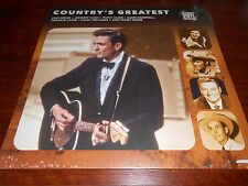 vinyle 33 tours COUNTRY'S GREATEST johnny cash lynn anderson patsy cline reeves