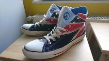 Converse All Star Chucks - The Who - Great Britain Flag - Size 10 1/2