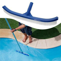 """Swimming Pool Cleaning Wall Floor Brush Deluxe Supplies 18"""" Plastic Bristle"""