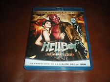 EDITION SPECIALE 2 DVD BLU RAY HELLBOY LES LEGIONS D'OR MAUDITES FILM + BONUS