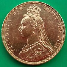 1892 M Victoria Jubilee Head Gold Sovereign