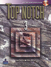 NEW Top Notch 3 with Take-Home Super CD-ROM by Joan Saslow