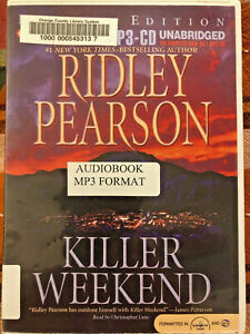 Killer Weekend Ridley Pearson Audiobook MP-3 CD Unabridged Ex Library