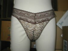GILLIGAN & OMALLA bikini  animal print M/M SEXY  MANNEQUIN display NWT