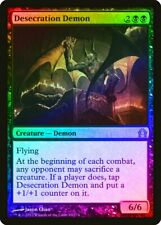 Desecration Demon FOIL Return to Ravnica NM Black Rare MAGIC MTG CARD ABUGames