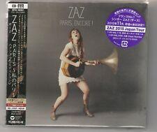 Paris Tour Edition by Zaz (France) Japan Import Bonus Tracks  CD +DVD New