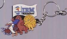2000 IBM Sydney Olympic Keychain Syd Olly Millie Mascot Rubber