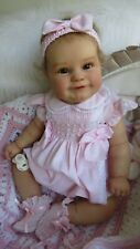 Reborn Baby Girl doll Gorgeous ✿✿ Maddie ✿✿  Sculpt by Bonnie Brown with COA