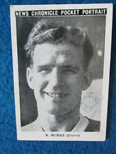 More details for hand signed - ron burke - exeter city -1950s -3.5