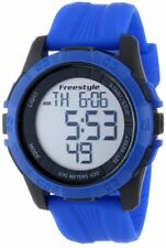 FREESTYLE Kampus XL 101984 Men's Sport Digital Quartz Watch Blue Silicone Strap