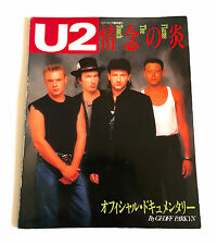 U2 Flame The Touch Japan Photo History Book 1988 Viva Rock Magzine Special (r)