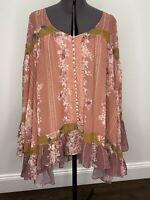 We Are Kindred Oversized Blouse/Dress Size 6 EUC