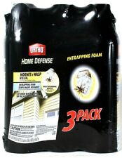 3 Pack Ortho 16 Oz Home Defense Hornet & Wasp Killer Entrapping Foam Up To 20 Ft