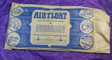 VINTAGE DURKEE ATWOOD INFLATABLE CUSHION PILLOW AIR FLOAT RUBBER COTTON BOAT USS