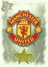 MANCHESTER  UNITED 1999 FANS SELECTION BASE / BASIC / EMBOSSED CARDS BY FUTERA