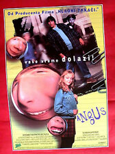 ANGUS 1995 CHARLIE TALBERT GEORGE C. SCOTT KATHY BATTES RARE EXYU MOVIE POSTER