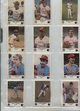 1981-82 Venezuelan Winter League Baseball 24 different 1982 Add-Ons CLEAN BACKS