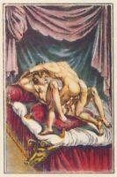 "Nach Agostino Carracci ""Ovide & Corine"" mytholog. Vereinigung von Penis & Vagina"