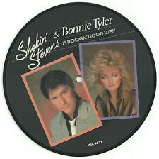 Shakin' Stevens and Bonnie Tyler picture disc single.