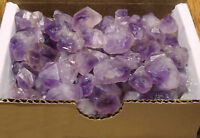 Amethyst Points Collection 1/2 Lb Natural Purple Crystals Madagascar