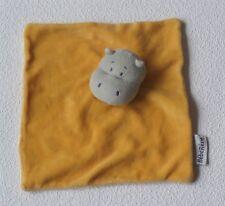 BEBEREVE AMTOYS hippopotame Hippo Orange-Schmusetuch Schnuffeltuch Kuscheltuch *