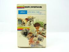 APPLE II SUPER SERIAL CARD VINTAGE 1982 EMPTY BOX ONLY COLLECTIBLE COMPUTER