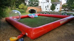 Inflatable barrier and zorb ball
